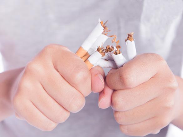 Quit Smoking - Fight COVID-19